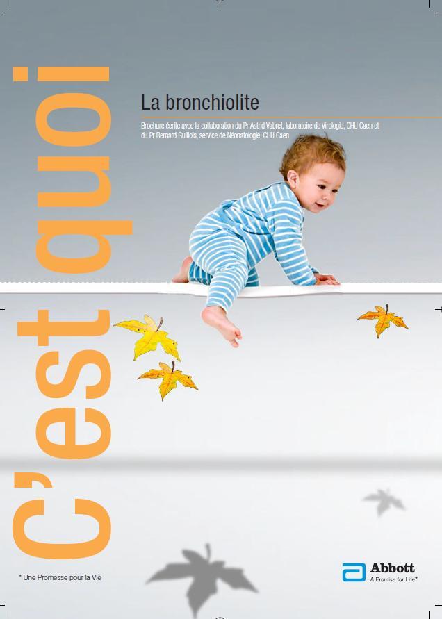 Brochure bronchiolite (source ABBOT)